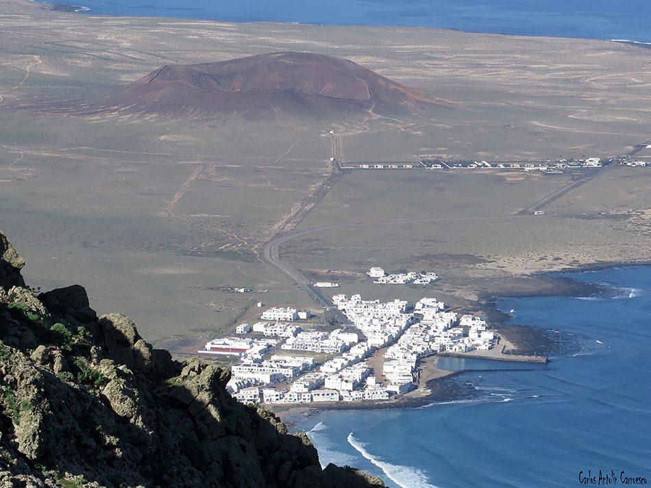 Las Nieves - Famara - Lanzarote - caleta de famara