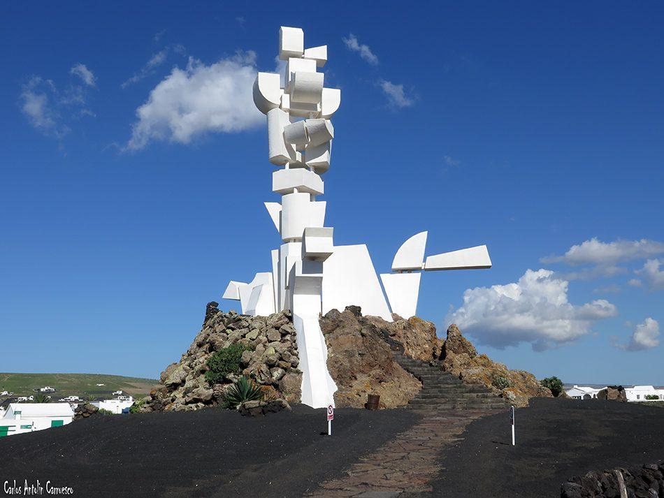 Museo del Campesino - San Bartolomé - Lanzarote - Monumento a La Fecundidad