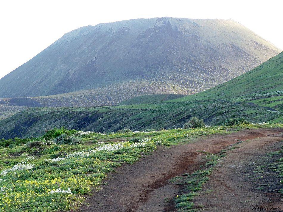Camino de Gayo - Macizo de Famara - Lanzarote - Volcán de La Corona
