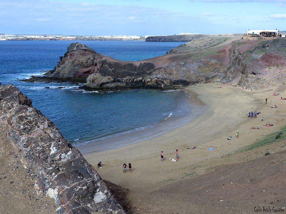 Los Ajaches - Papagayo - Lanzarote - playa blanca