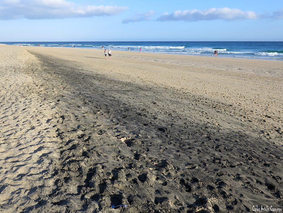 Morro Jable - Jandia - Fuerteventura - playa de sotavento