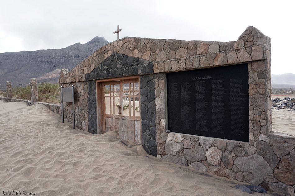 Cofete - Playa de Cofete - Fuerteventura - Cementerio de Cofete