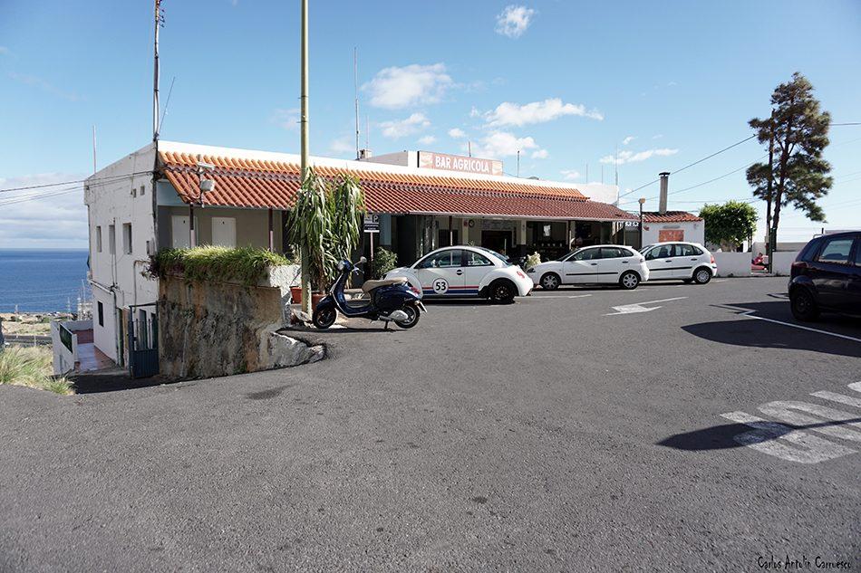 Igueste de Candelaria - Los Porqueros - Tenerife - bar agrícola - tf28