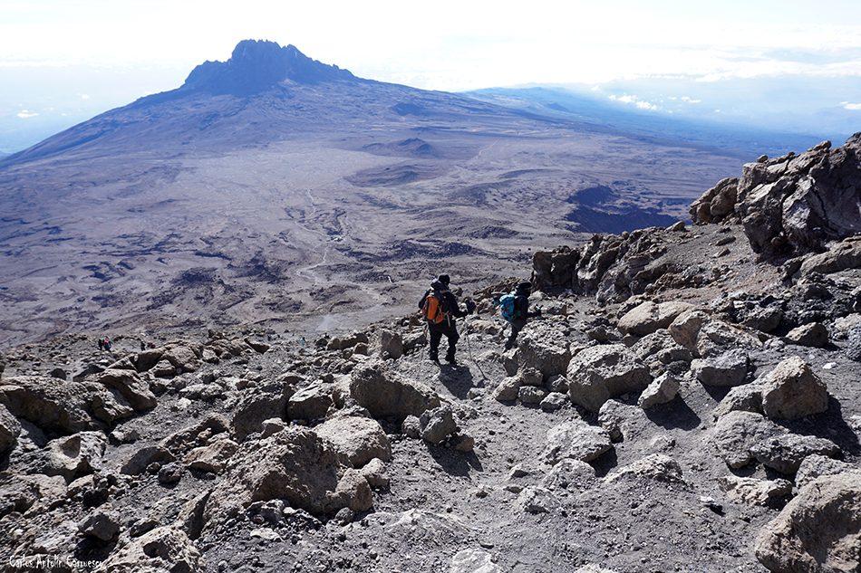 Rongai - Tanzania - Kilimanjaro - Volcán Kibo - Gilman's Point