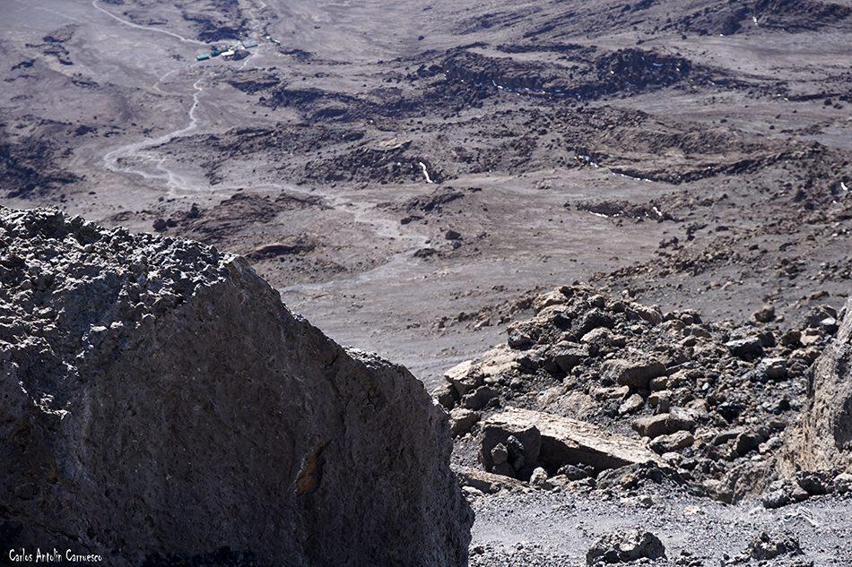 Rongai - Tanzania - Kilimanjaro - kibo hut - Volcán Kibo
