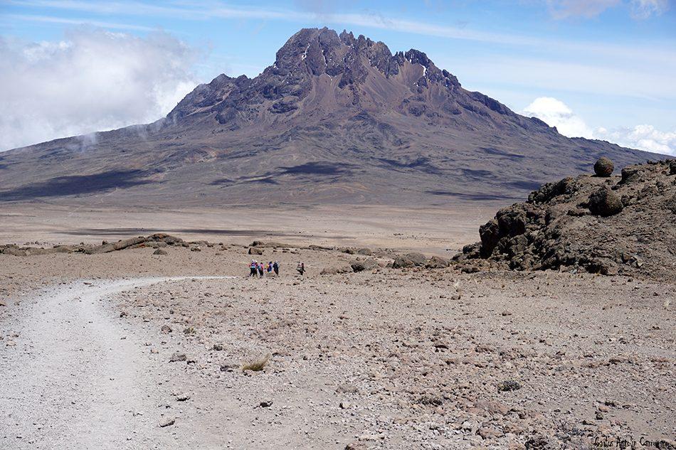 Marangu - Tanzania - Kilimanjaro - volcán Mawenzi