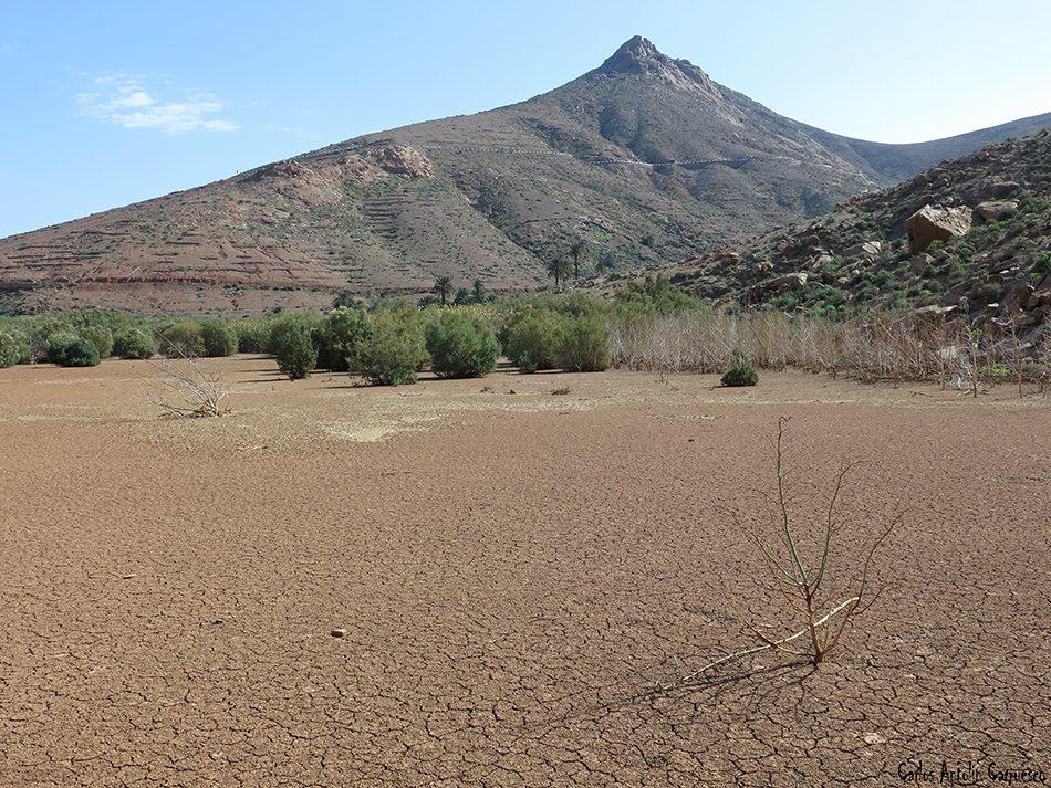 Barranco de las Peñitas - Virgen de la Peña - Fuerteventura - montaña del muda