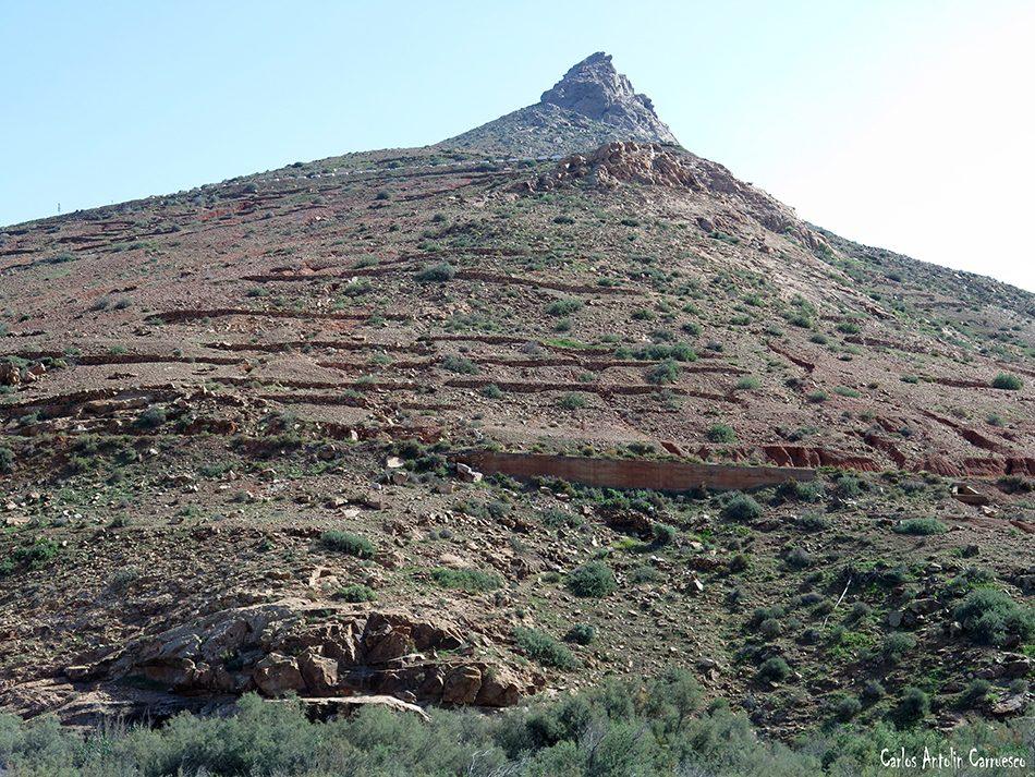 Barranco de las Peñitas - Vega de Río Palmas - Fuerteventura - montaña del muda