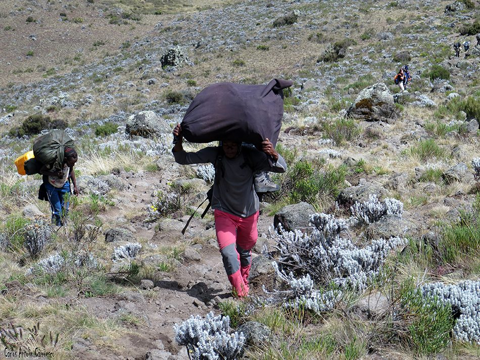 Volcán Mawenzi - Rongai - Kilimanjaro