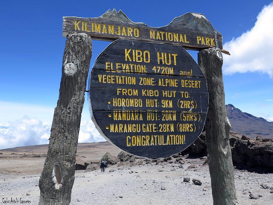 Rongai - Kilimanjaro - Tanzania - Kibo Hut
