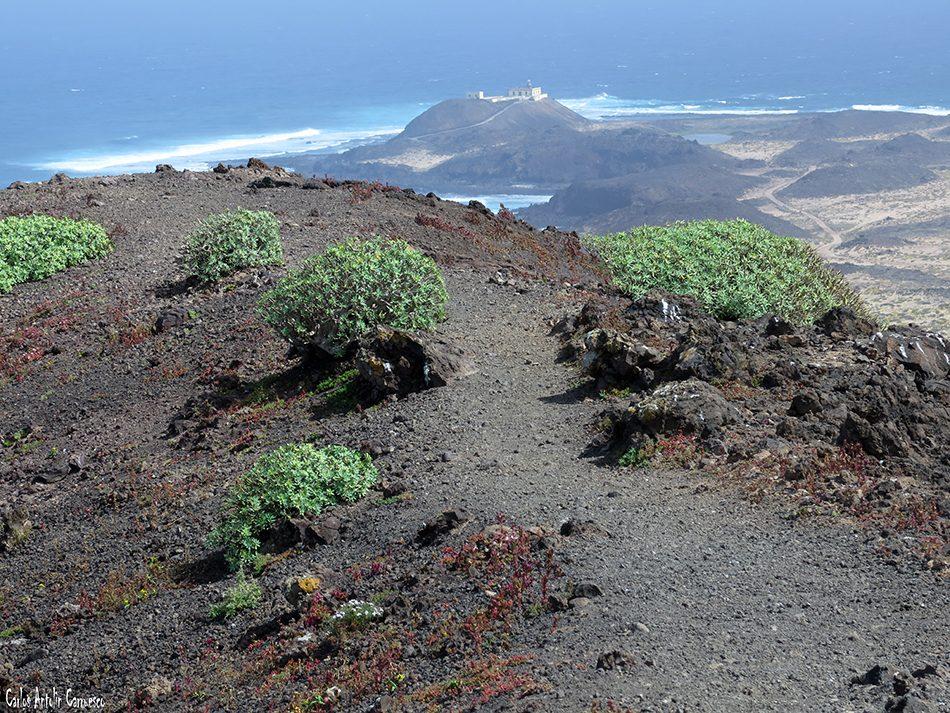 Islote de Lobos - La Caldera de la Montaña - Fuerteventura - faro de martiño