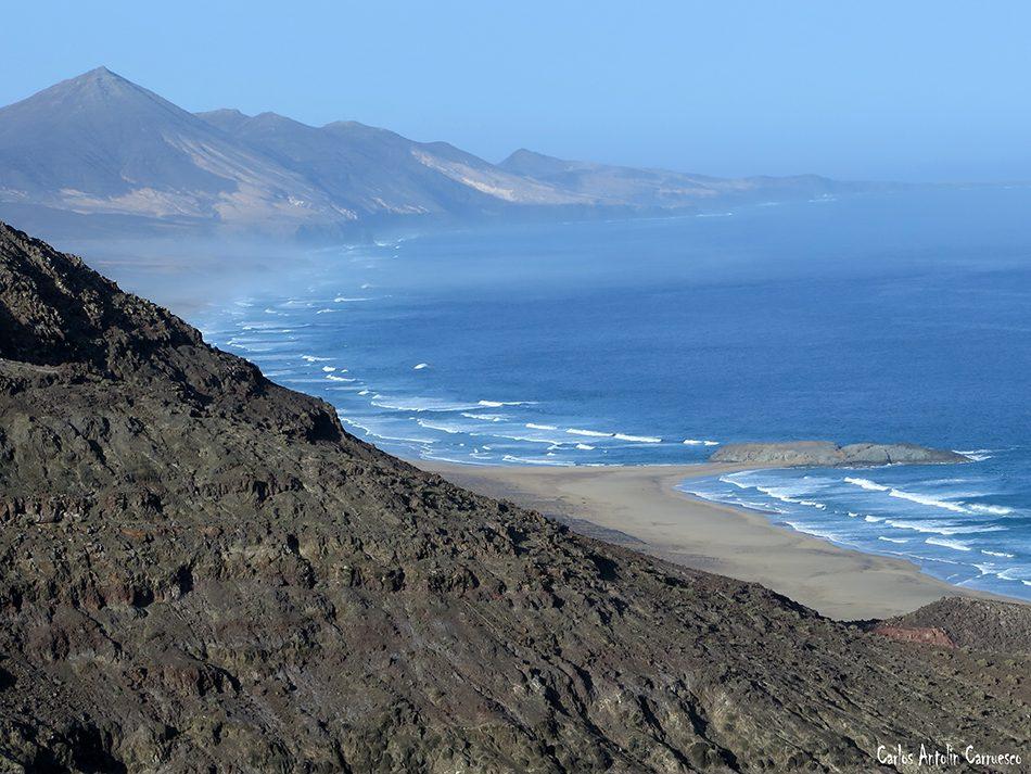 Morro de La Burra - Pecenescal - Fuerteventura - cofete - el islote