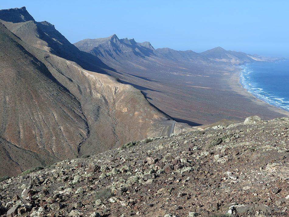 Morro de La Burra - Pecenescal - Fuerteventura - cofete - Pico de La Zarza
