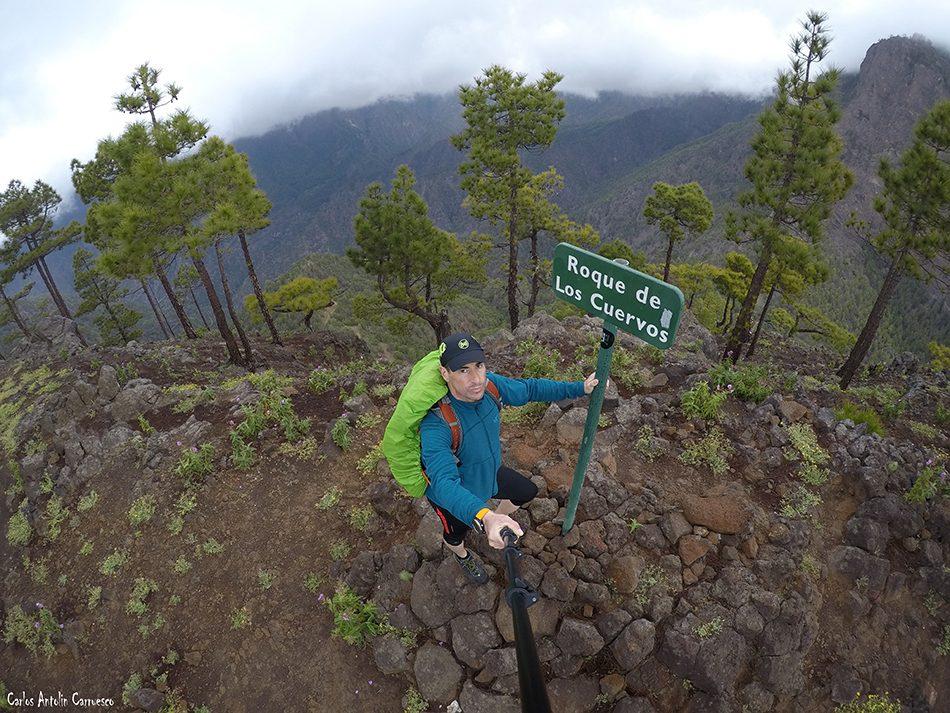 Pico Bejenado - Taburiente - La Palma - roque de los cuervos