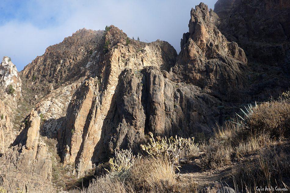 Risco Blanco - Riscos de Tirajana - Gran Canaria