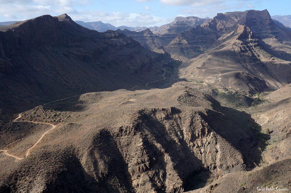 Mirador de Las Yeguas - Fataga - Gran Canaria