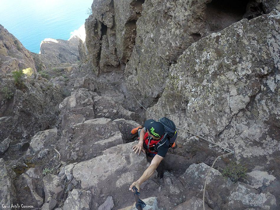 Paso de La Piedra - Faneque - Gran Canaria