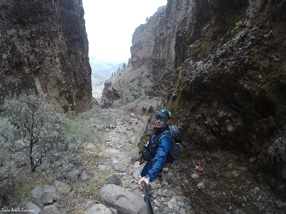 Cañadón Sombrío - Ruta de Bentejuí - Gran Canaria