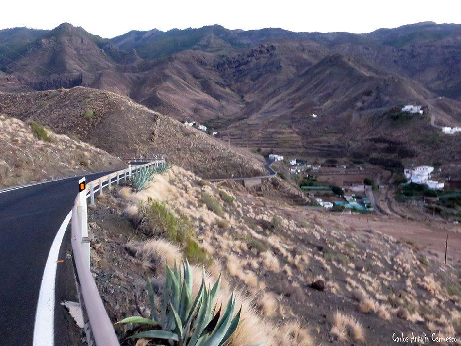 El Risco - Playa de Faneroque - Gran Canaria - Risco de Faneque