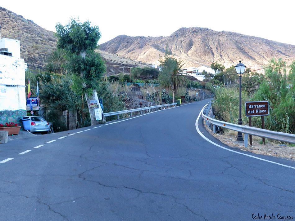 Carretera GC200 - El Risco - Gran Canaria - bar perdomo