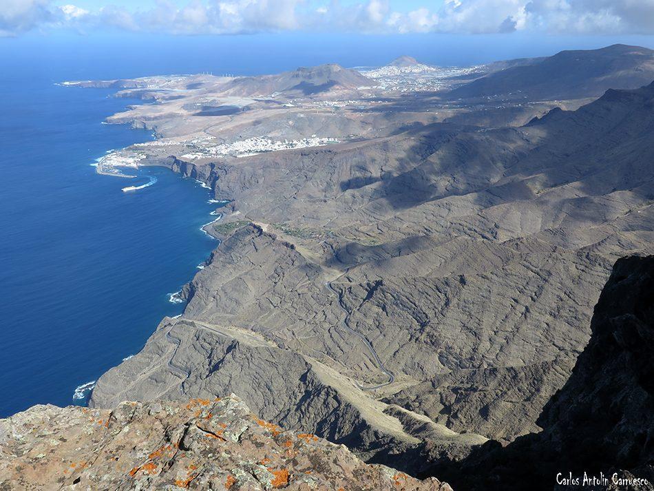El Risco - Faneque - Gran Canaria - puerto de las nieves - agaete