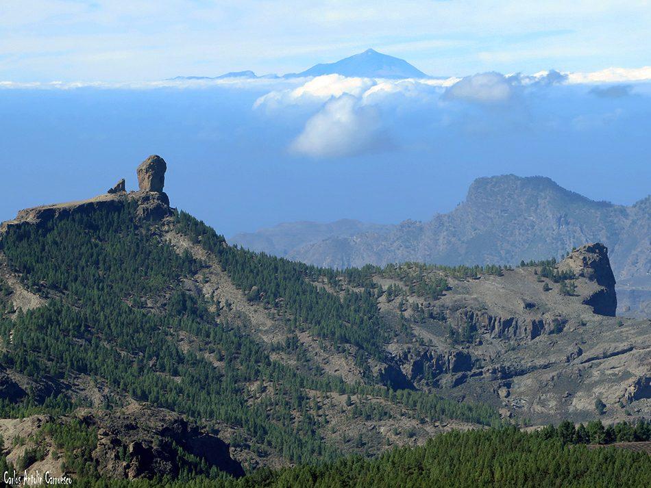 Pico de Las Nieves (1.949 metros de altitud) - Isla de Gran Canaria