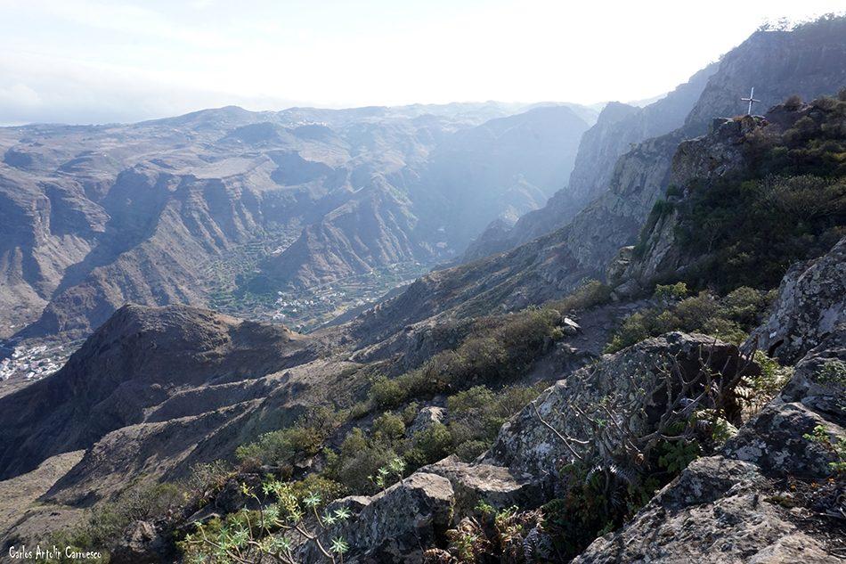 Tamadaba - Agaete - Gran Canaria - roque bermejo - Mirador de La Vuelta del Palomar