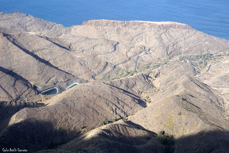Tamadaba - Agaete - Gran Canaria - Mirador de La Vuelta del Palomar