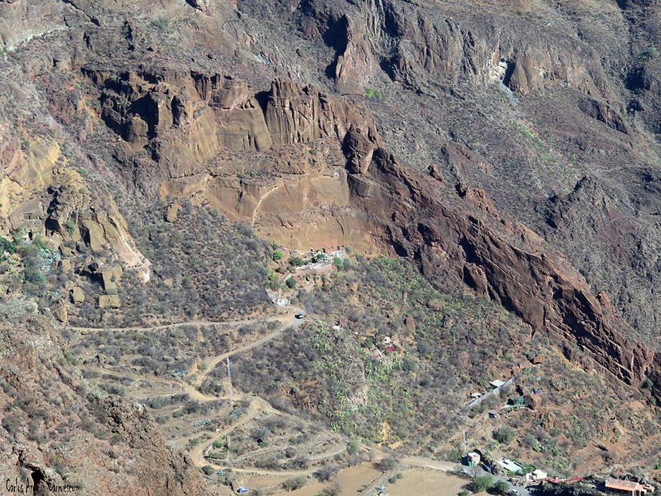 Montaña de Las Tierras - Gran Canaria - Barranco del Guayadeque
