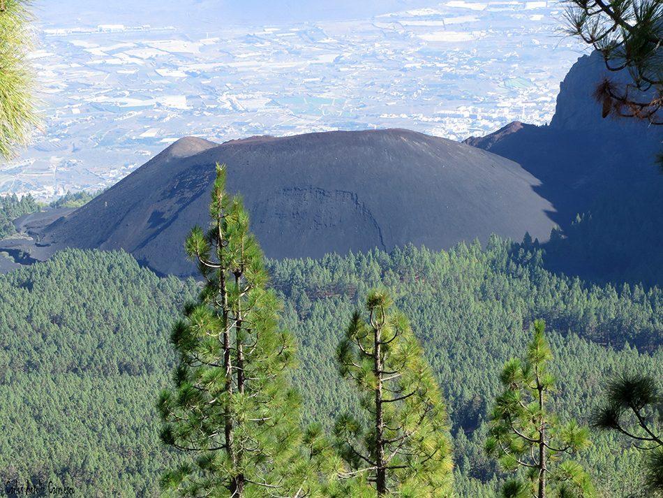 Montaña de La Crucita - Valle de Güimar - Tenerife - volcan de las arenas