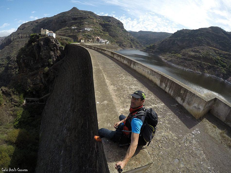 Presa y embalse de Los Pérez - Agaete - Gran Canaria