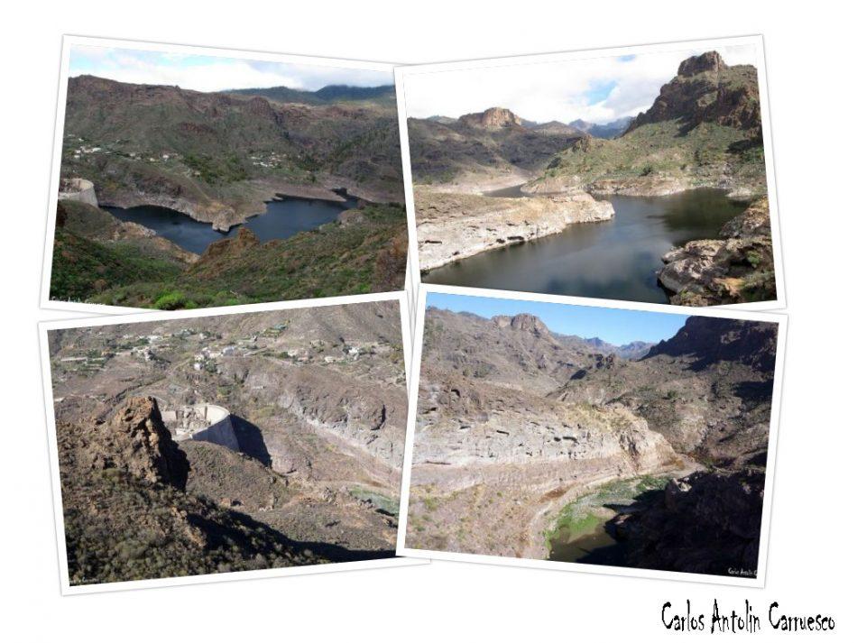 Presa y embalse de Soria - Gran Canaria