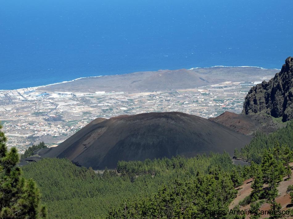 Ruta de la Esperanza - TF24 - Volcán Montaña de las Arenas - Tenerife - Mirador de La Crucita - Caldera de Pedro Gil - Valle de Güimar
