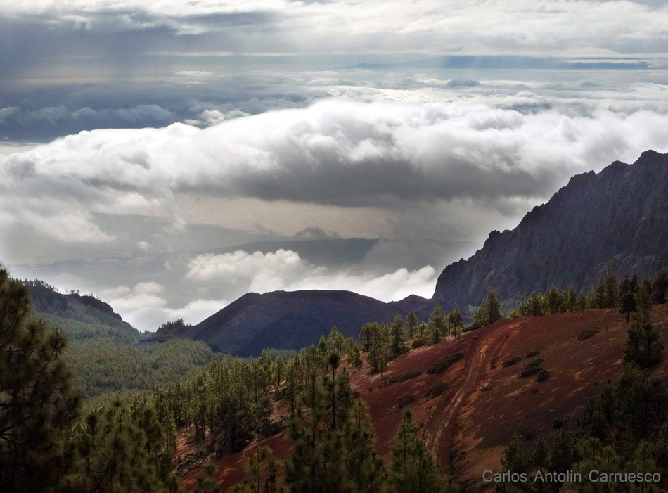 Ruta de la Esperanza - TF24 - Tenerife - caldera de pedro gil - pico del valle - cho marcial