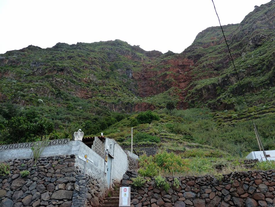 Punto de partida: camino de Los Pasos - Agulo - La Gomera