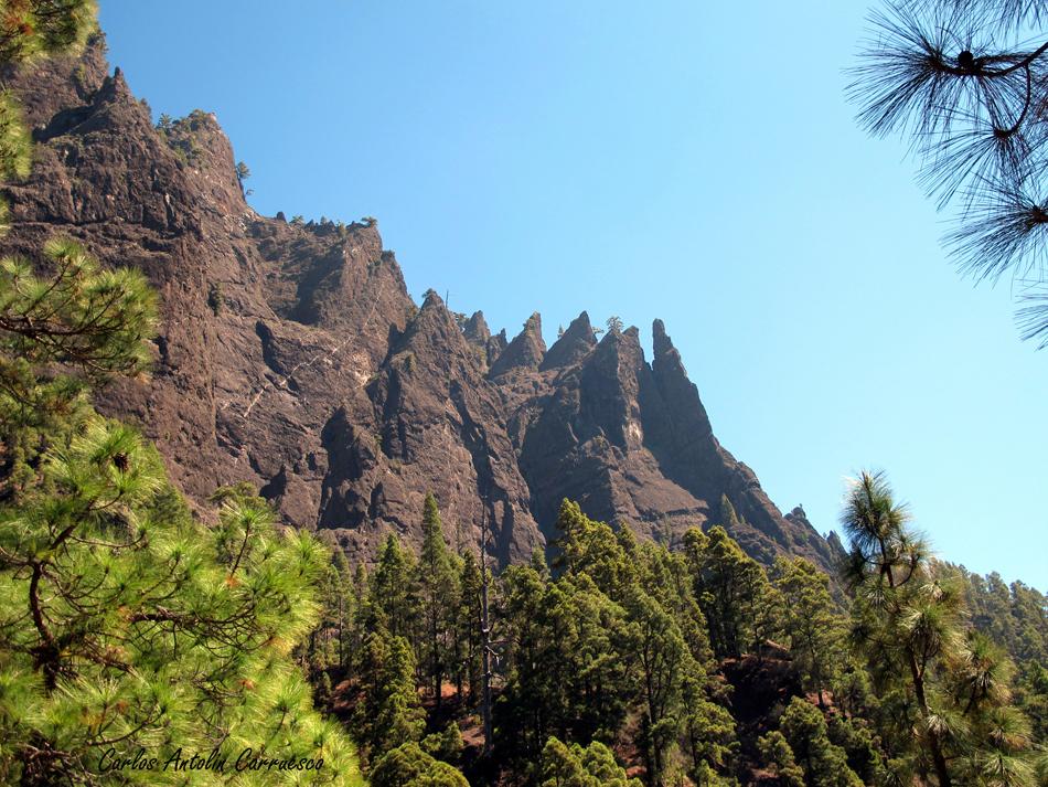 Brecitos - Parque Nacional de La Caldera de Taburiente - La Palma