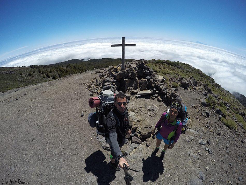 Parque Nacional de La Caldera de Taburiente - La Palma - pico de las nieves