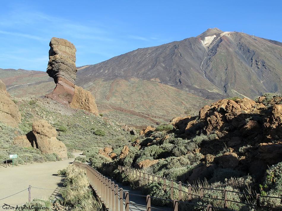 Parque Nacional del Teide - Tenerife - Roques de García - Roque Cinchado