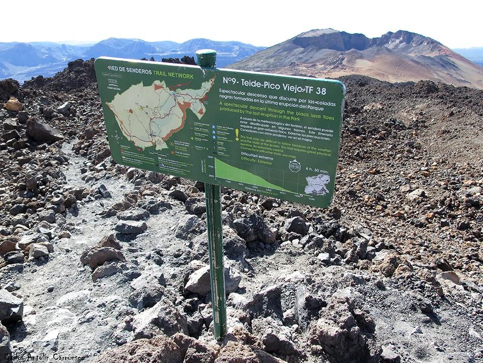 Parque Nacional del Teide - Tenerife - Mirador de Pico Viejo