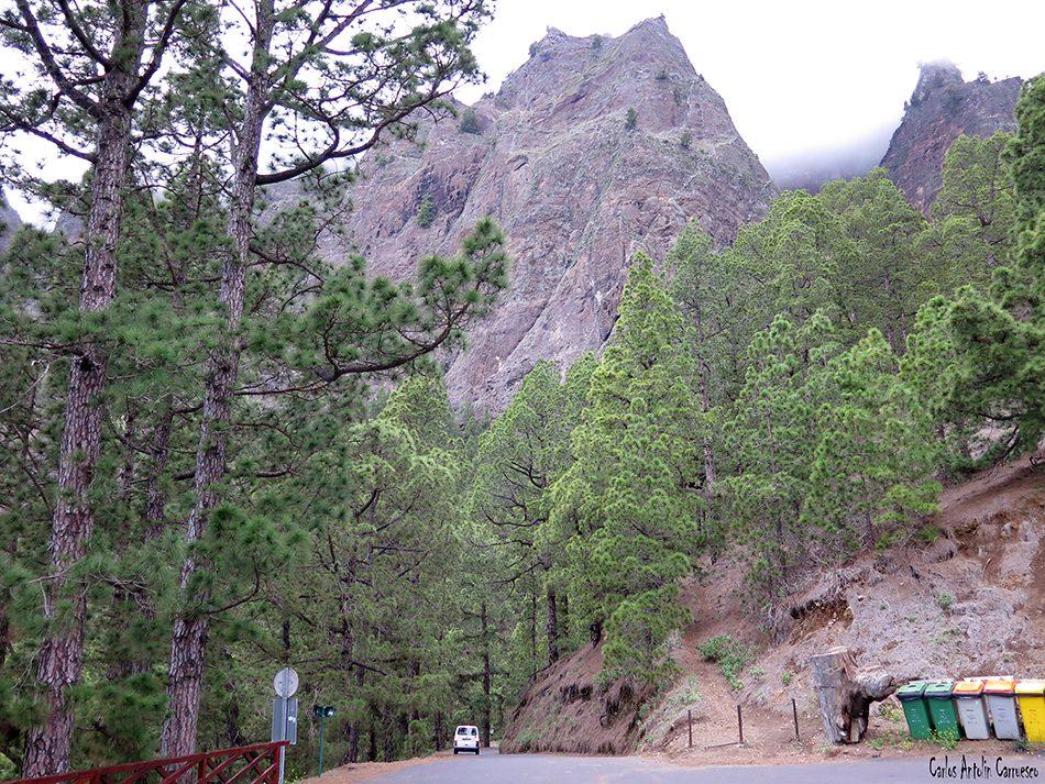 Mirador de Los Brecitos - La Palma - taburiente