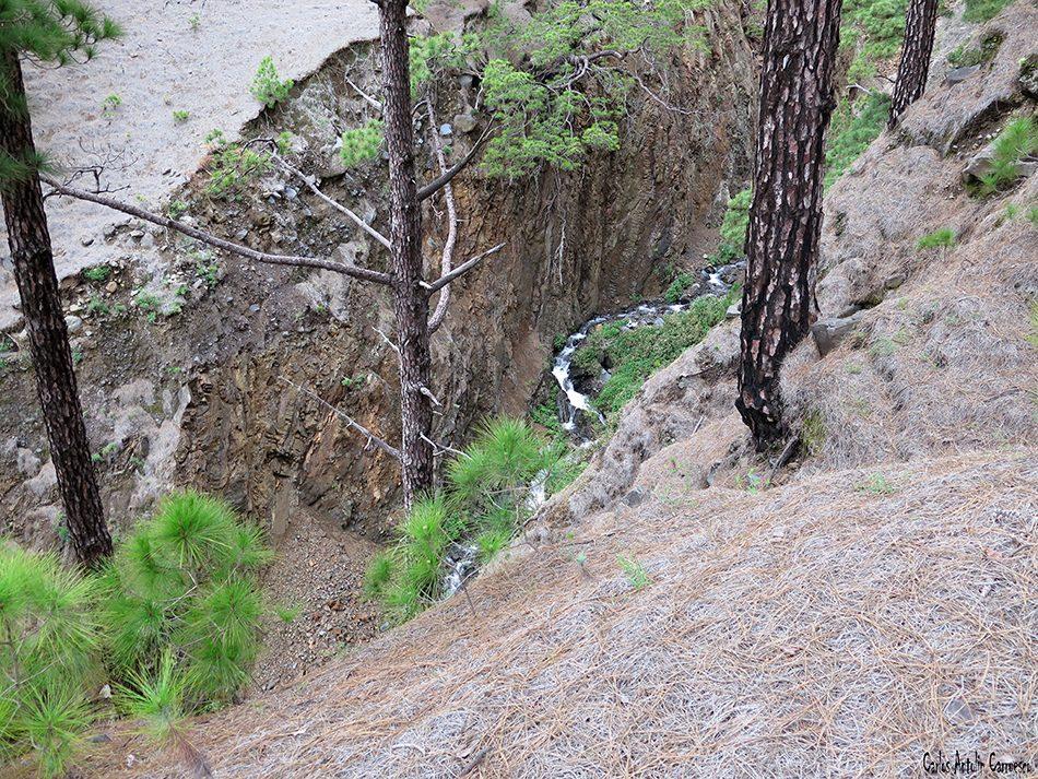 La Cumbrecita - Taburiente - La Palma - Barranco de Las Verduras de Alfonso