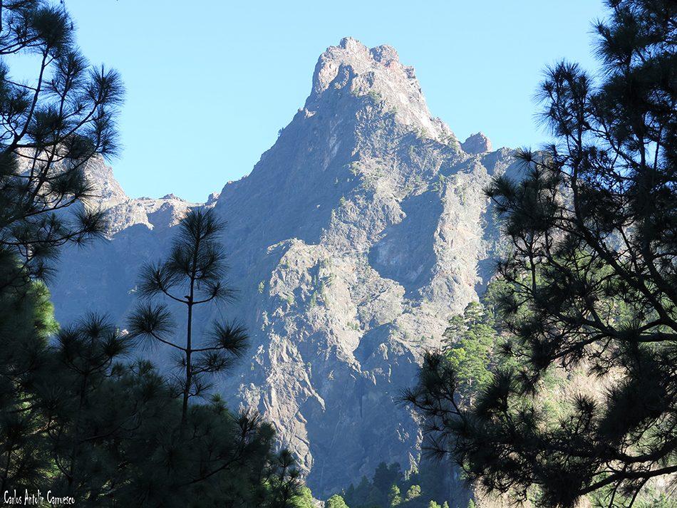 Zona de acampada - Taburiente - La Palma