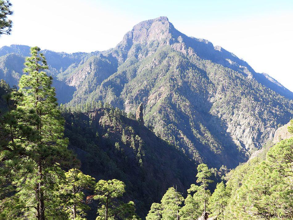 Parque Nacional de La Caldera de Taburiente - La Palma - Pico Bejenado - Roque de Idafe
