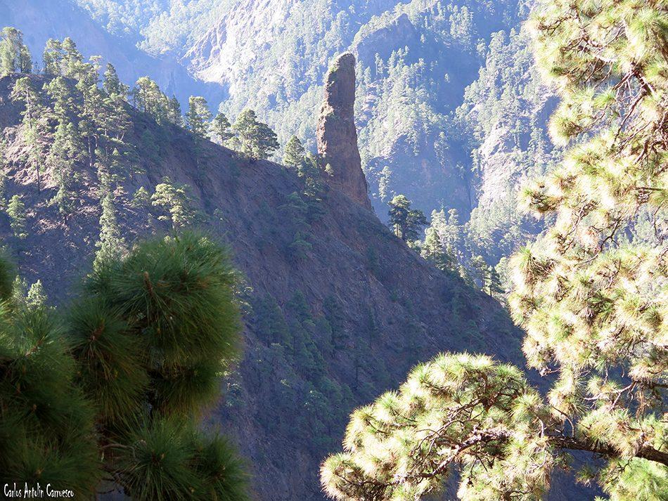 Parque Nacional de La Caldera de Taburiente - La Palma - Roque de Idafe