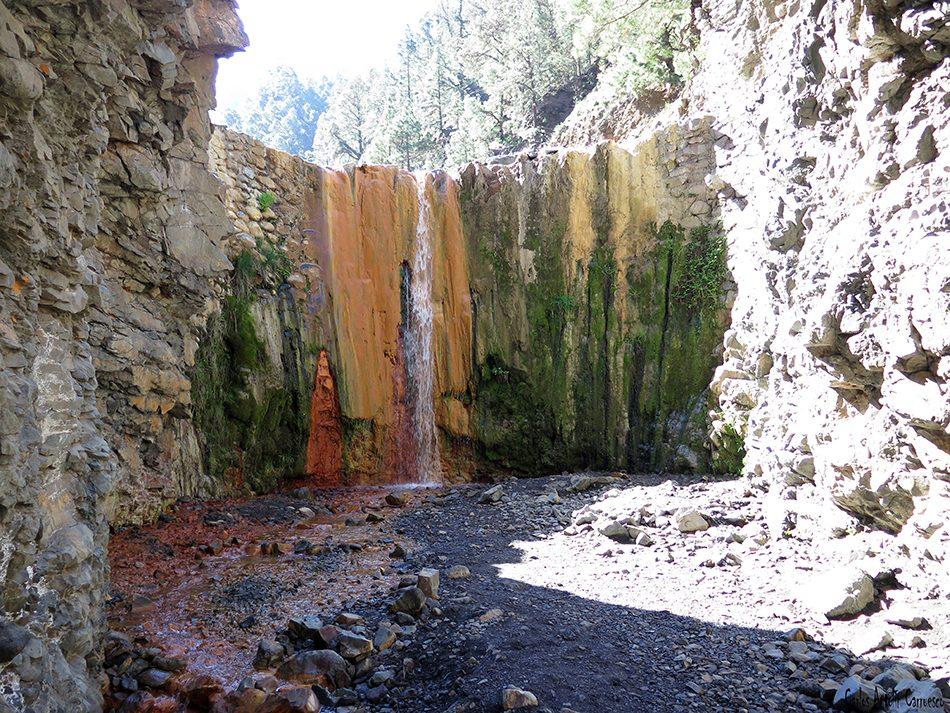 Cascada de Colores - Taburiente - La Palma