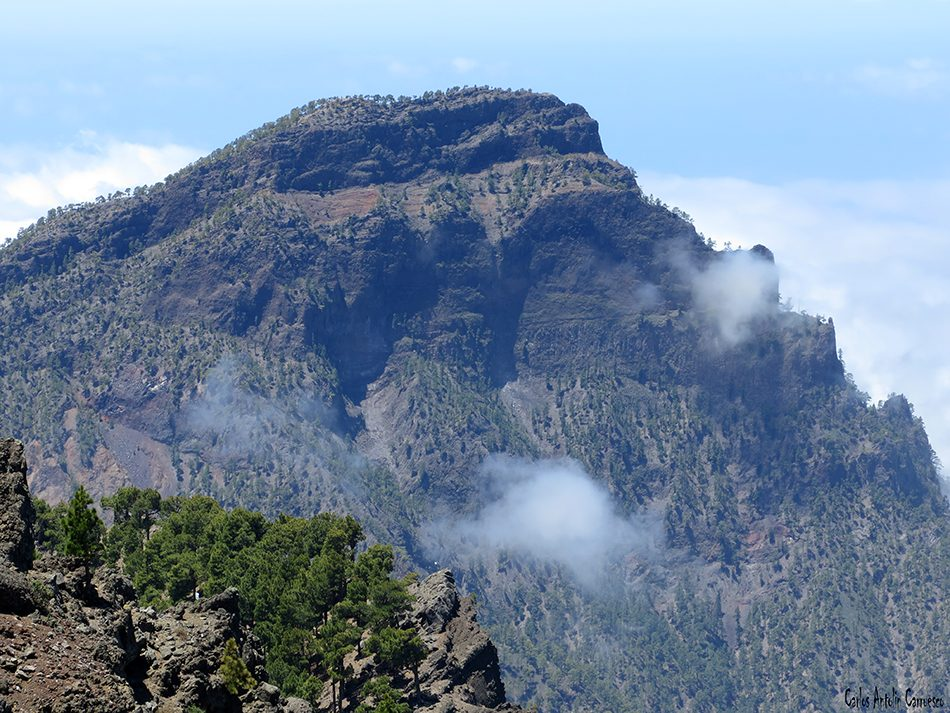 Parque Nacional de La Caldera de Taburiente - La Palma - pico bejenado