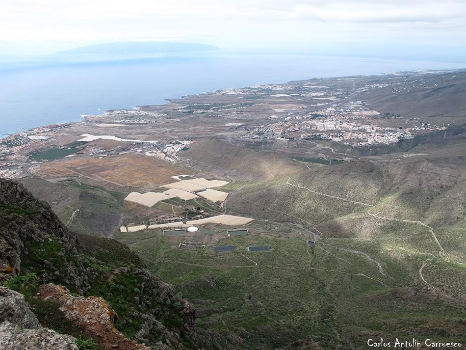 Roque del Conde - Ichasagua - Tenerife - costa adeje