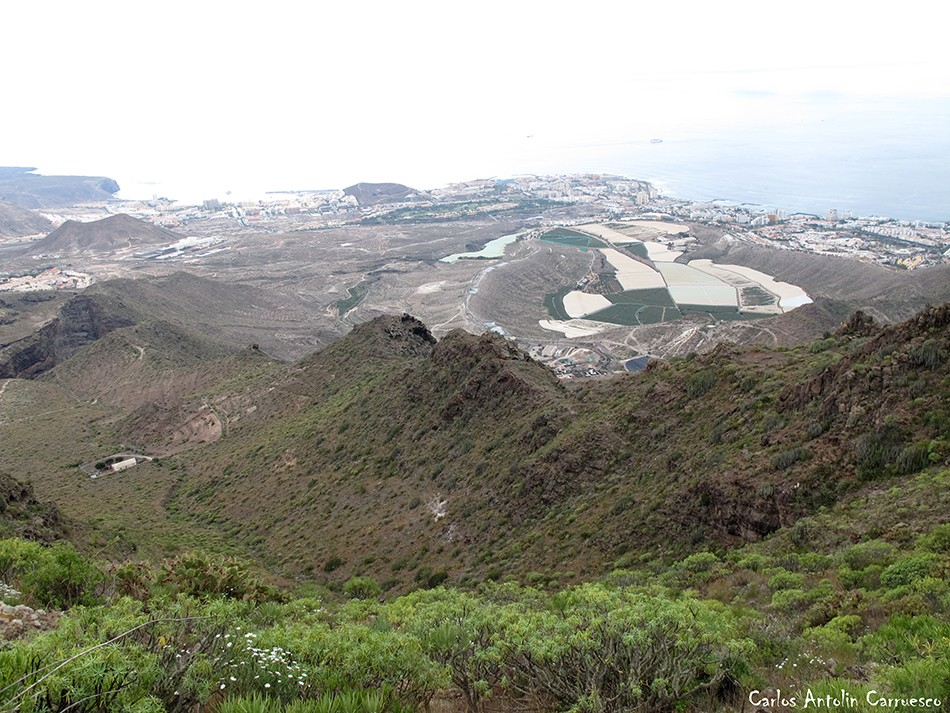 Roque del Conde - Ichasagua - Tenerife - Los Cristianos - Las Américas