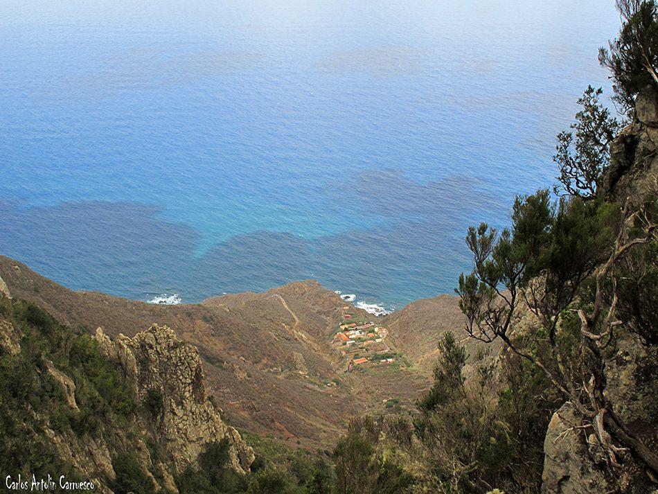 Gran Recorrido Circular por el Faro de Anaga - Tenerife - el draguillo
