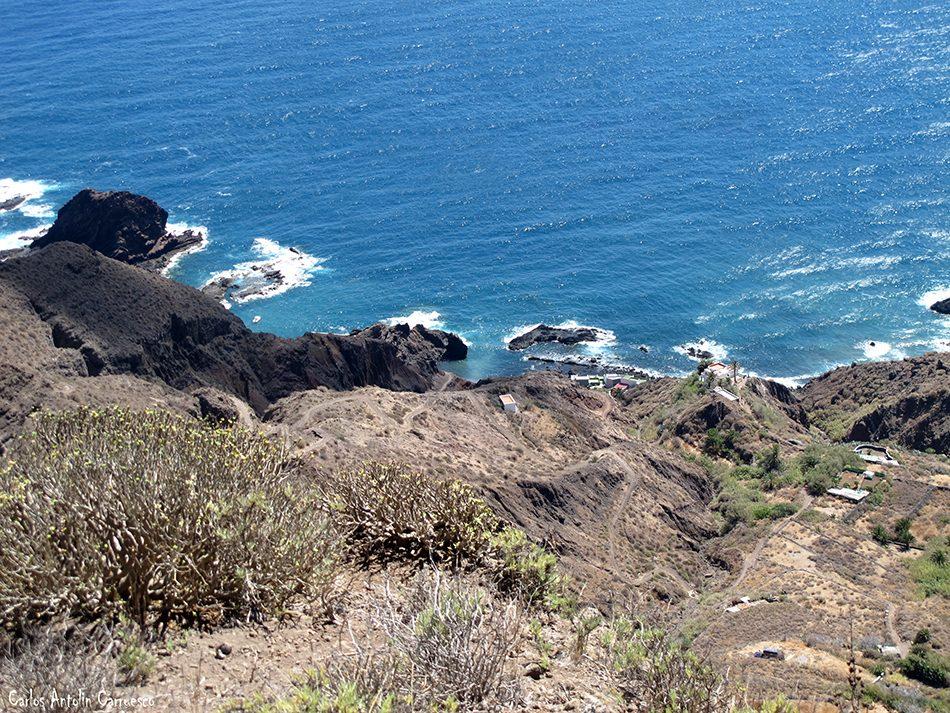 Gran Recorrido Circular por el Faro de Anaga - Tenerife - roque bermejo